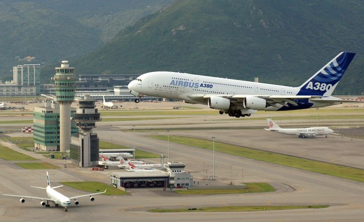 Platz drei: Hong Kong International Airport