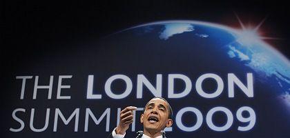 Obama beim G-20-Gipfel in London: Bushs Fehler einfach fortgeführt