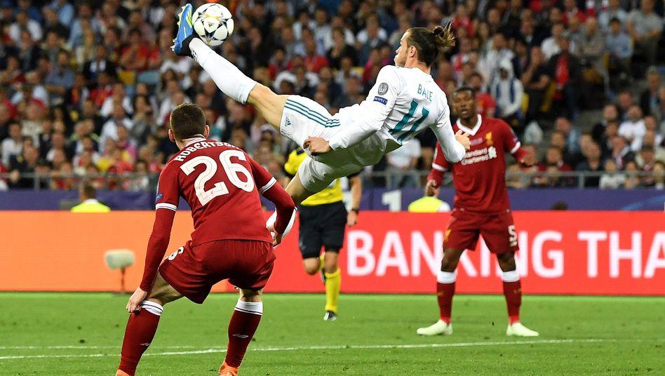Gareth Bale beim Fallrückzieher
