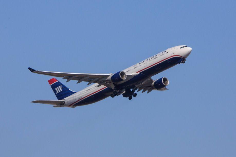 EINMALIGE VERWENDUNG US Airways Airbus A330