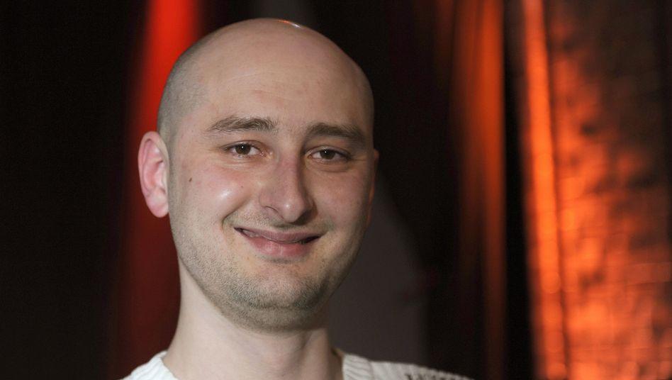 Schriftsteller Arkadij Babtschenko