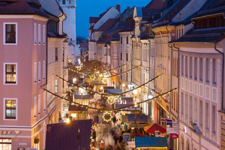 Weihnachtsmarkt in Bautzen (Archivbild)