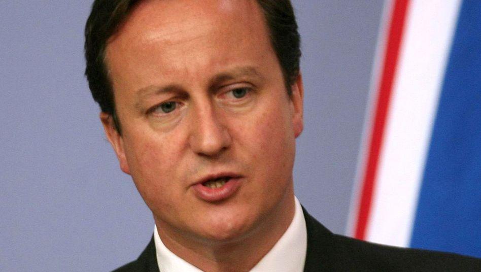 """Britischer Premierminister Cameron: """"Die Situation im Gaza-Streifen muss sich ändern"""""""