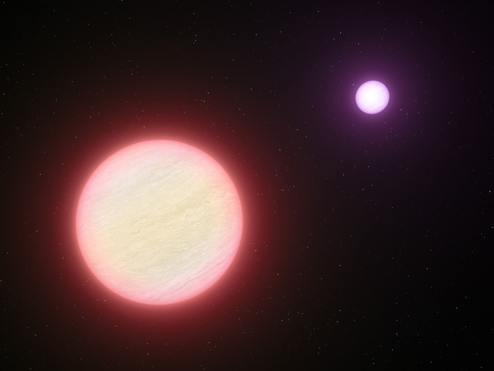 Doppelsternsystem / Brauner Zwerg