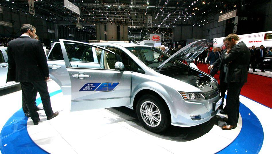 Elektrolimousine E6 von BYD: China setzt auf das Akku-Auto