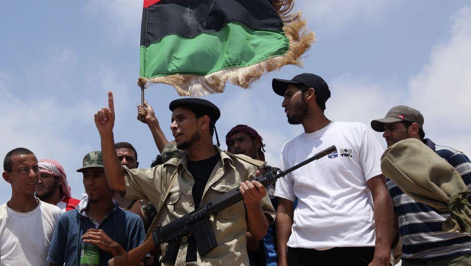 Libysche Rebellen: Verstoß gegen Menschenrechte?