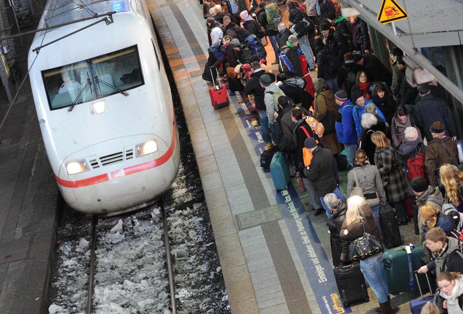 Winter / Wetter / Bahn
