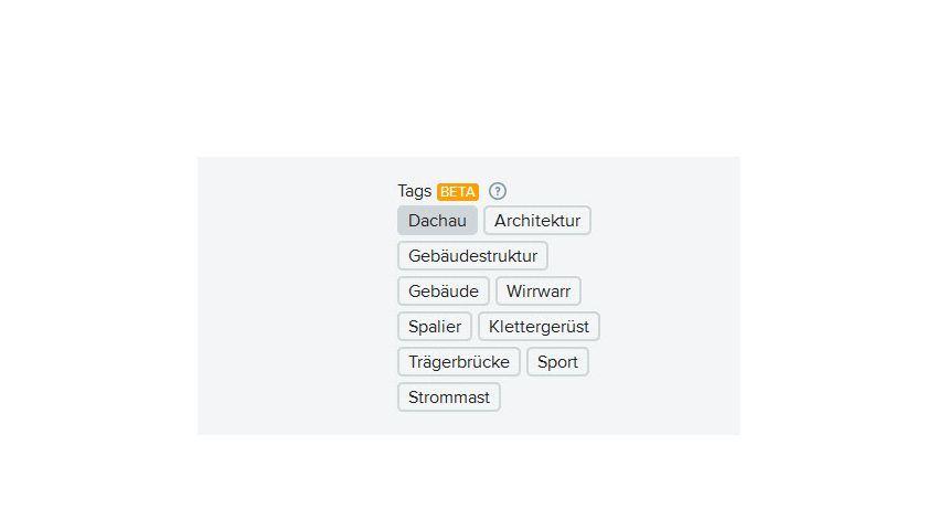 """Flickr-Schlagworte: """"Sport und """"Klettergerüst"""" beim KZ Dachau"""