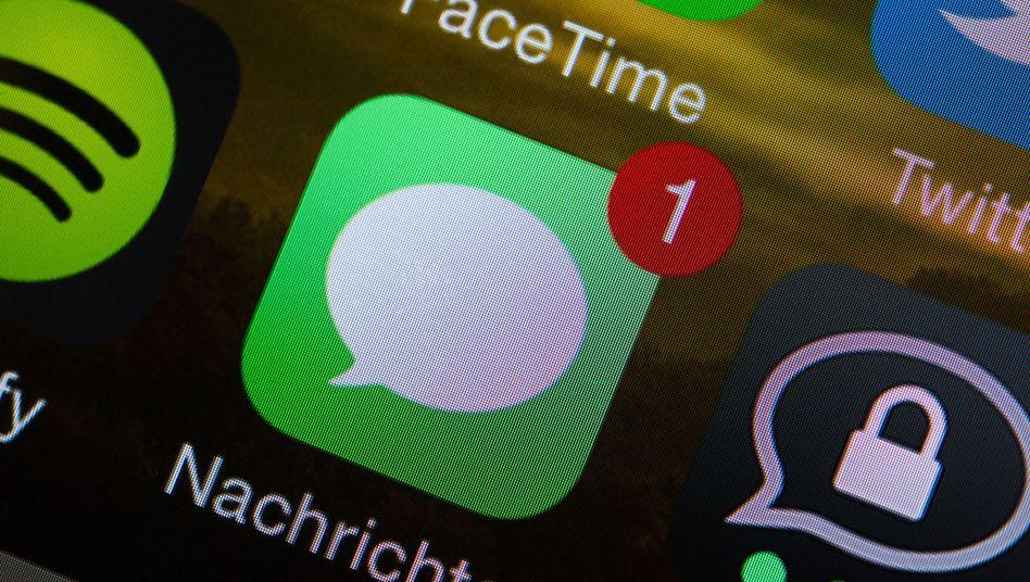 Icon von Apples Nachrichten-App iMessage