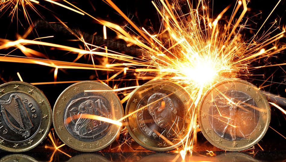 Euro-Münzen: Zerbricht die Währungsgemeinschaft?