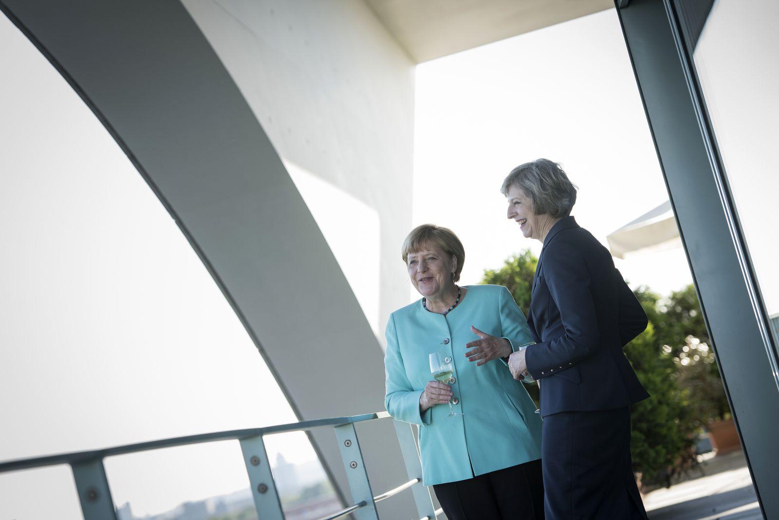 Angela Merkel / Theresa May