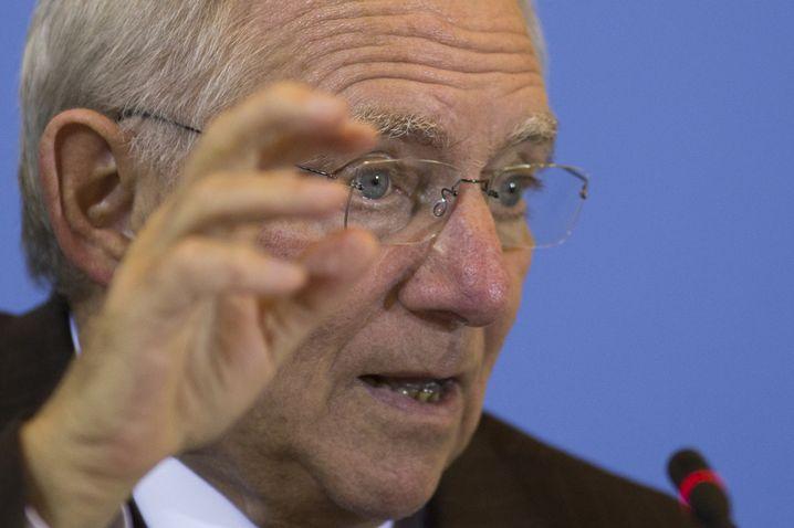 Deutscher Finanzminister Schäuble: Kampf gegen uferlose Verschuldung