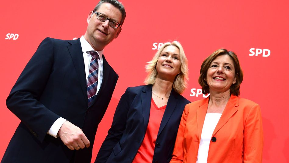 Thorsten Schäfer-Gümbel, Manuela Schwesig, Malu Dreyer: Stellvertretende SPD-Chefs übernehmen kommissarisch die Führung