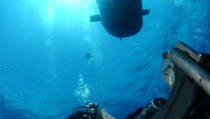 Mini-U-Boote: Unterwasser-Taxis für Elitesoldaten