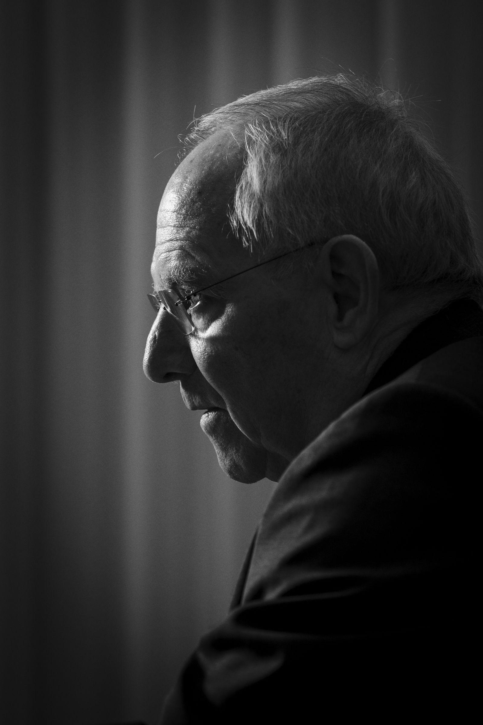 EINMALIGE VERWENDUNG SPIEGEL PLUS SPIEGEL 32/2017 STARTBILD Dr. Wolfgang Schäuble