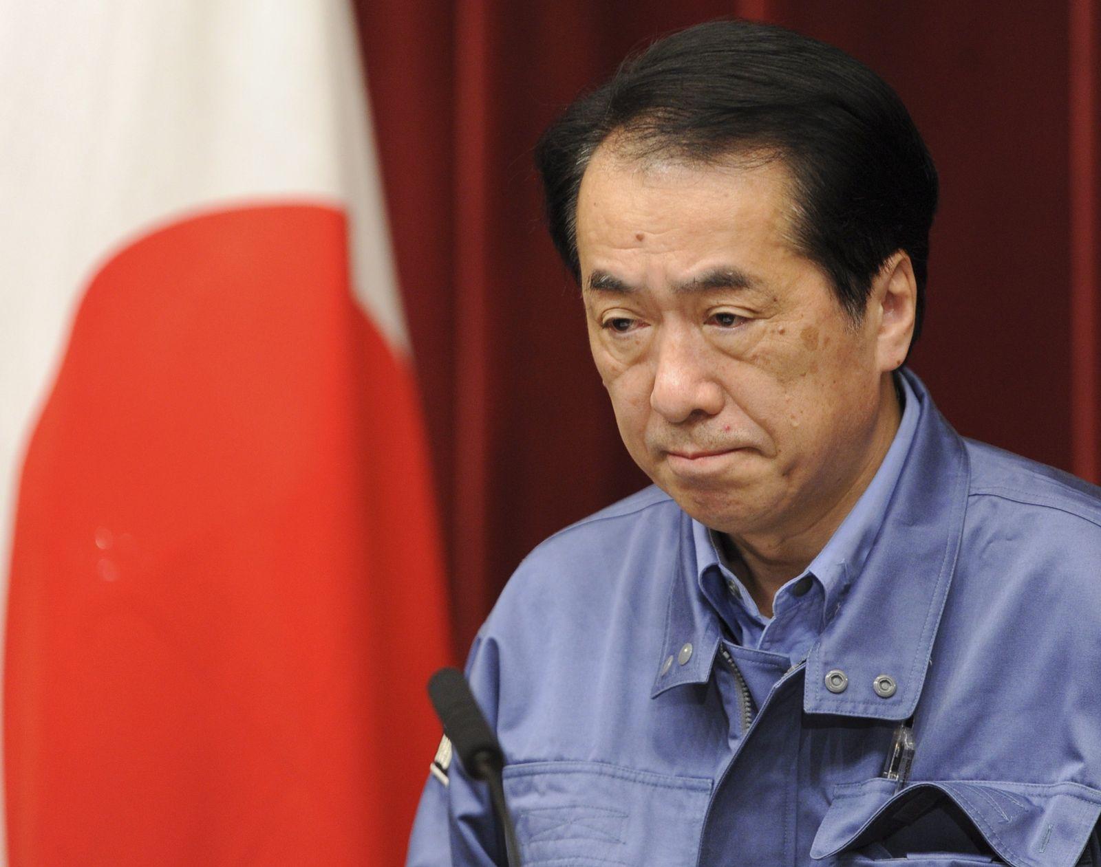 Japan Earthquake Tsunami naoto kan