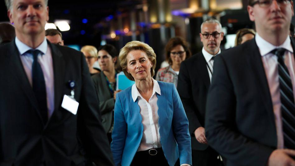 """European Commission President Ursula von der Leyen: """"An unprecedented crisis."""""""