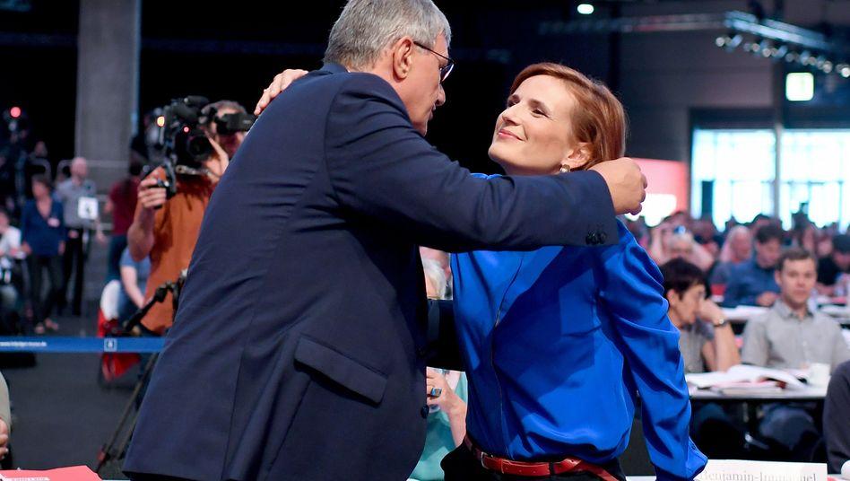 Parteichefs Bernd Riexinger und Katja Kipping