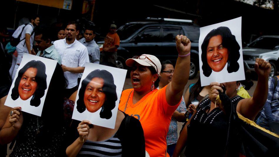Aktivisten in Honduras