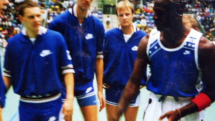 """Michael Jordan in Bayreuth: Als """"His Airness"""" einschwebte"""