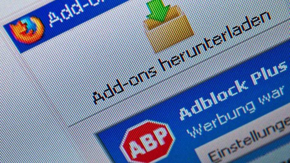 Browser-Add-on zum Blocken von Werbung: Kampagne gegen Adblocker