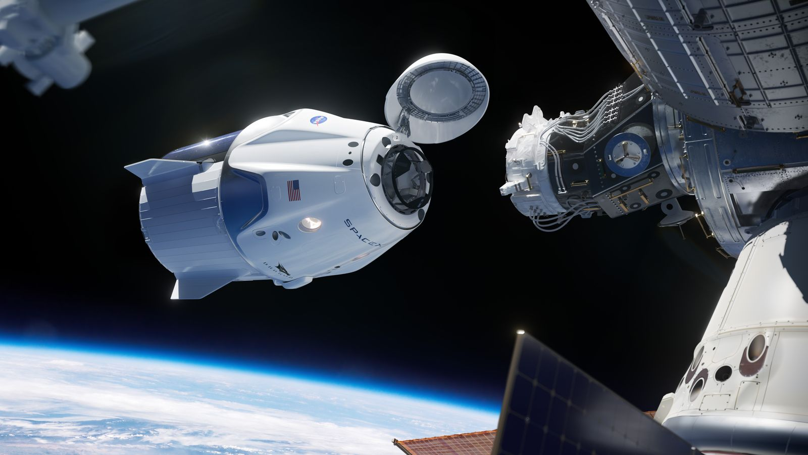 NASA's Commercial Crew Program: crew flight set to launch from US soil on 27 May, USA - 25 Feb 2019