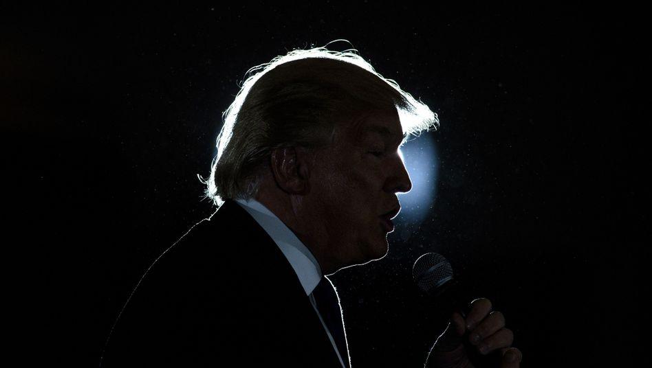 Trump noch vor seiner Wahl zum 45. US-Präsidenten