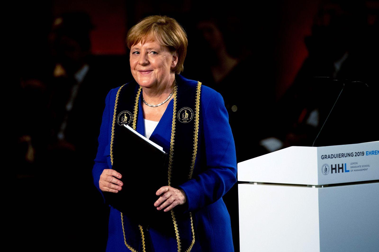 Angela Merkel/ HHL Leipzig