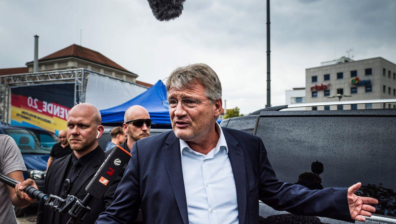 Wie Parteichef Meuthen von seinen Leuten gedemütigt wurde - DER SPIEGEL - Politik
