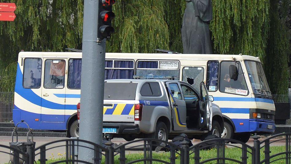 Polizeieinsatz in Luzk