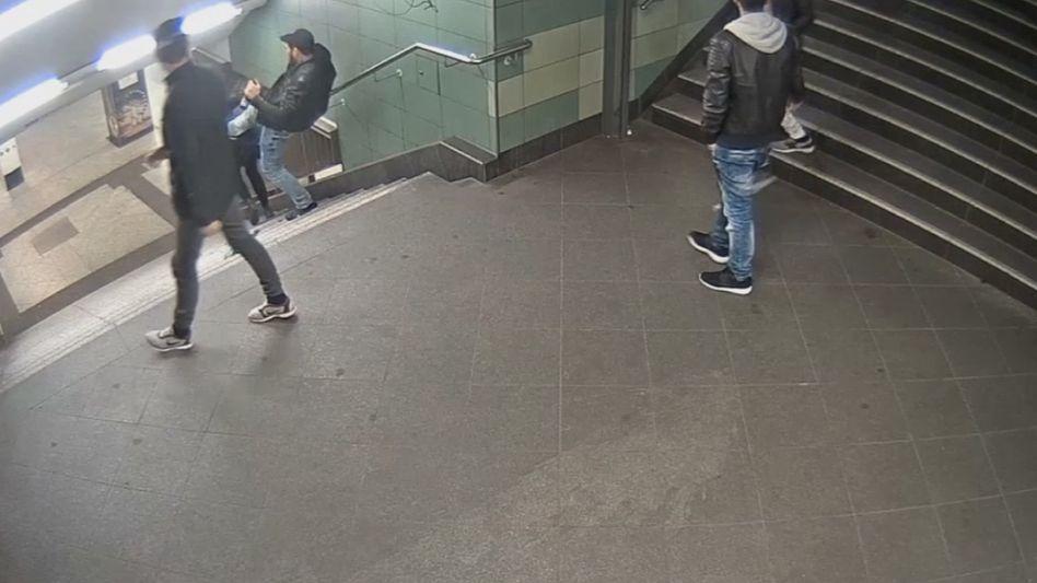 Videosequenz des Verbrechens