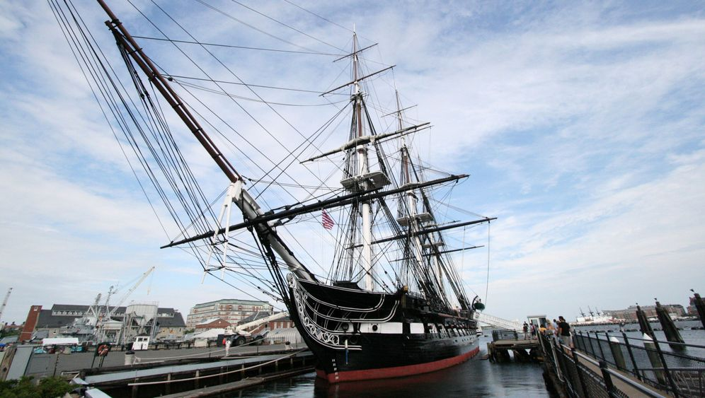 """""""USS Constitution"""" in Boston: Das legendäre Staatsschiff"""