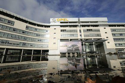 Opel's headquarters in Rüsselsheim.