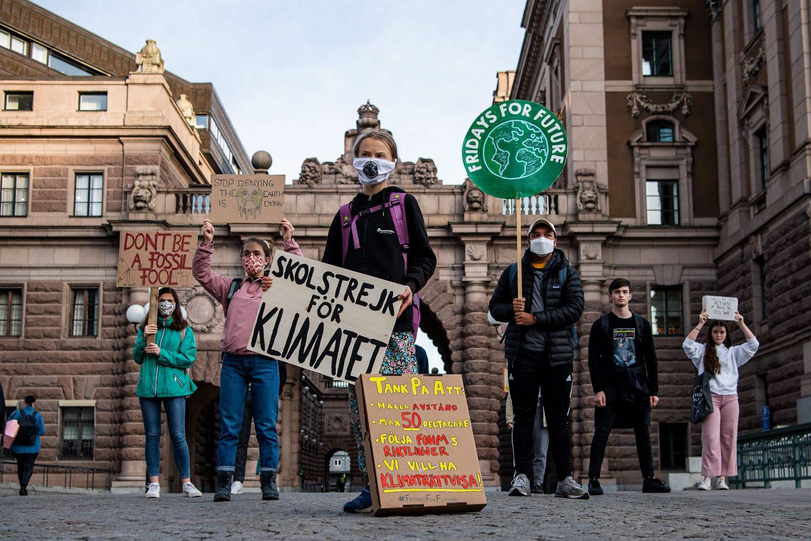 SWEDEN-CLIMATE-STRIKE-GRETA