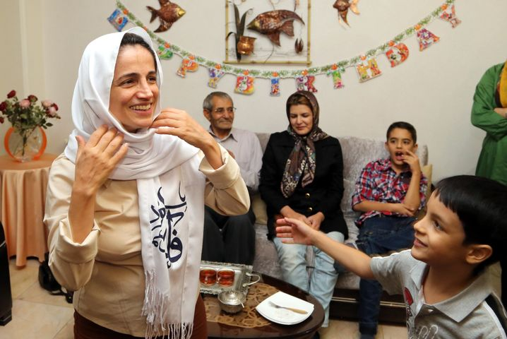 Nasrin Sotudeh (2013)