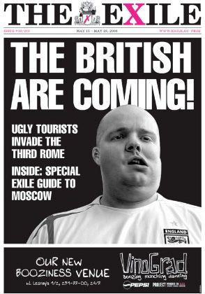 """Aktuelle Ausgabe """"The eXile"""": Leser beschweren sich, die Zeitung würde """"Russland herabwürdigen"""""""