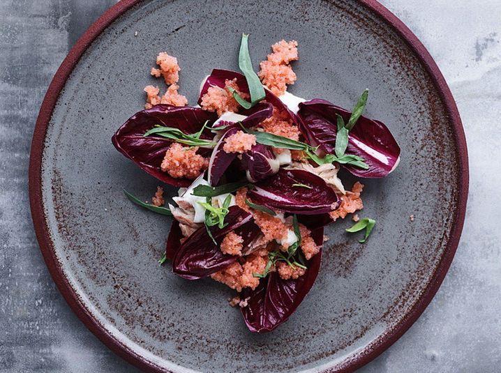 Mikkel Karstads Radicchio-Salat