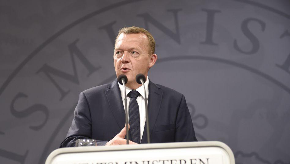 Dänischer Premier Rasmussen