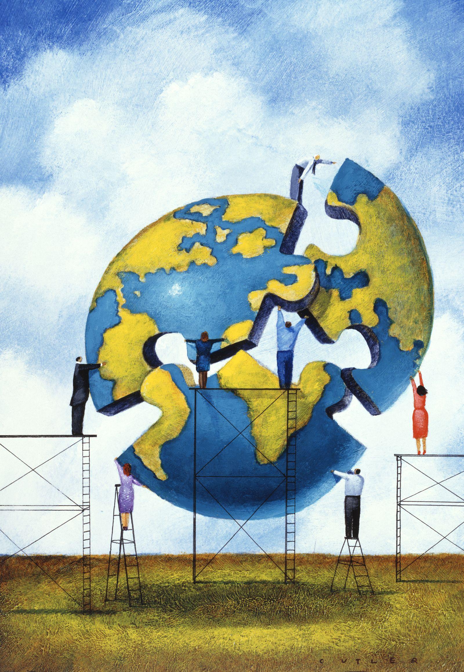 NICHT MEHR VERWENDEN! - Puzzle / Welt