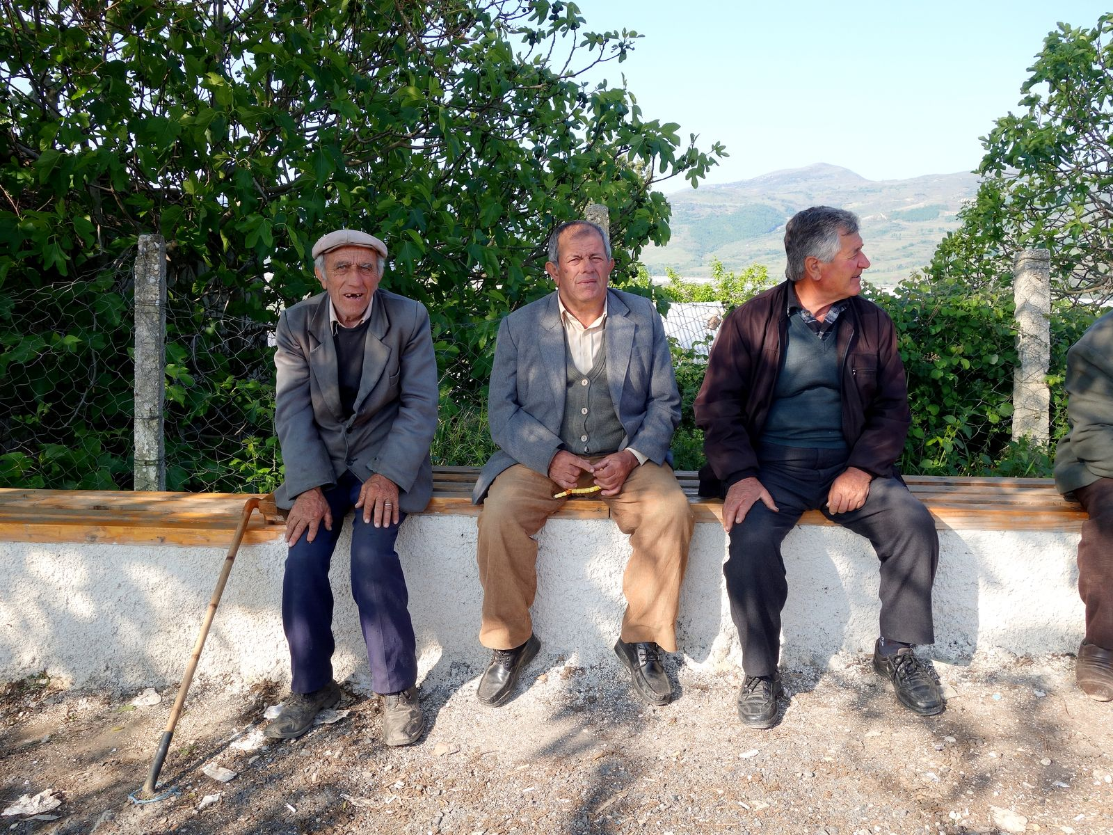 Vjosa/ Albanien/ Wildfluss