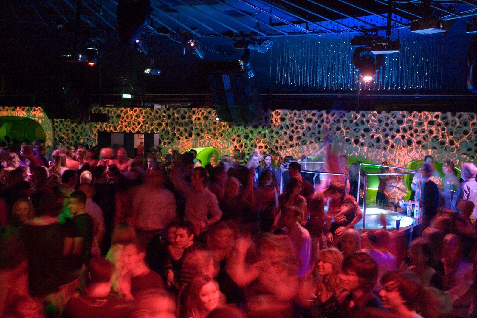 Dancefloor at The Cocoon Club.