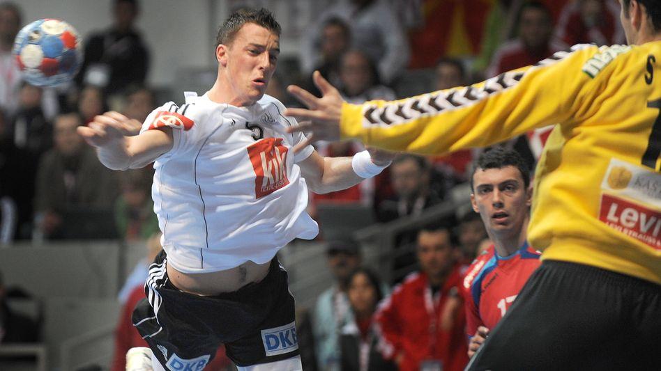 """Handballer Klein (l.): """"Bei Frankreich passt derzeit auch nicht alles zusammen"""""""