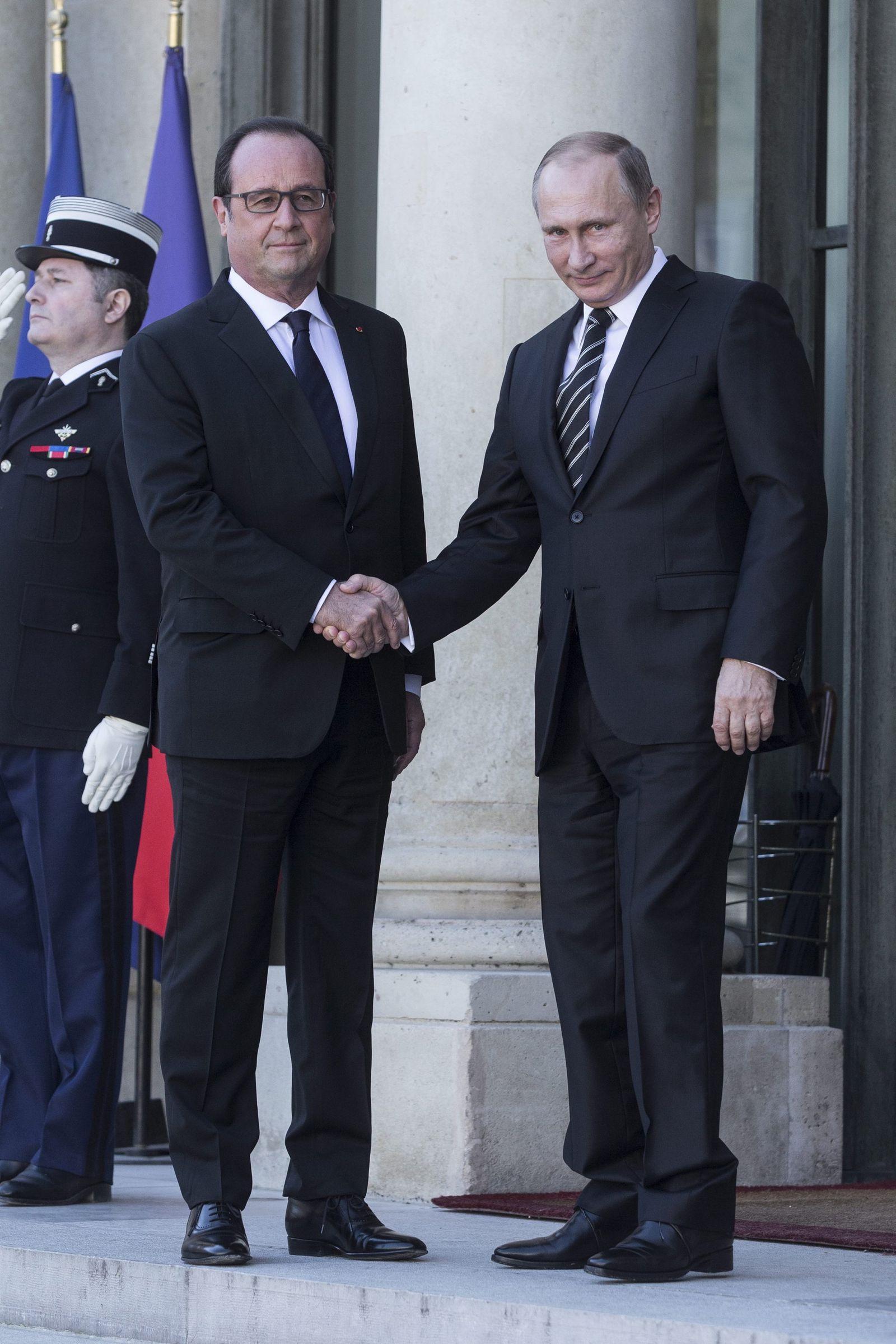 Hollande mit Putin