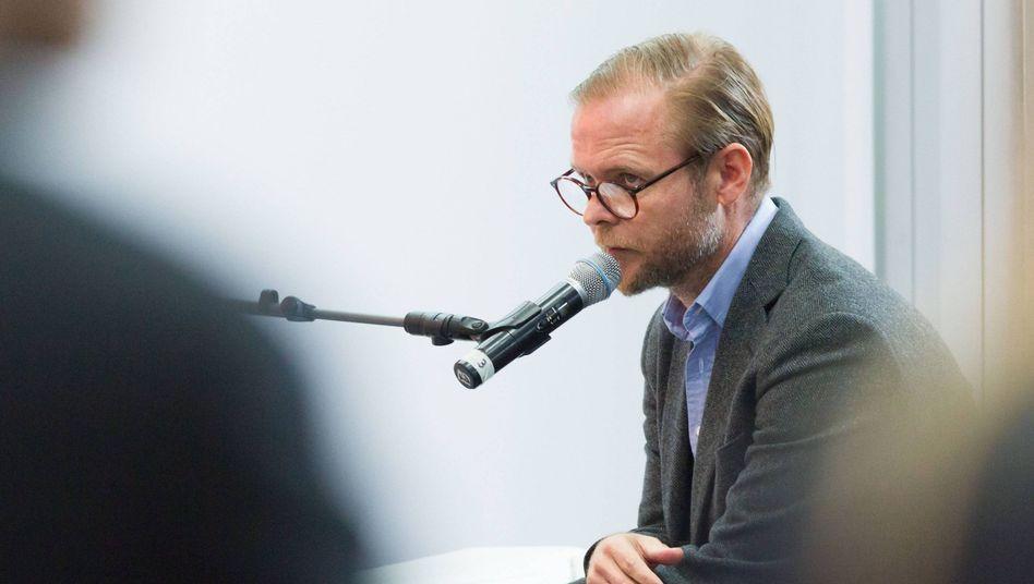 Der Schriftsteller Christian Kracht (2012)