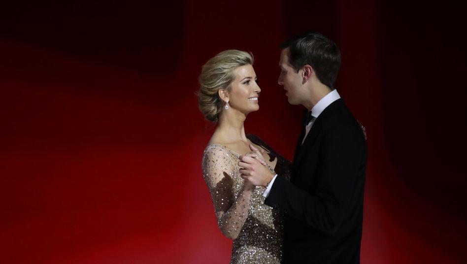 Glamour-Paar Trump/Kushner: Die Familie kommt immer zuerst