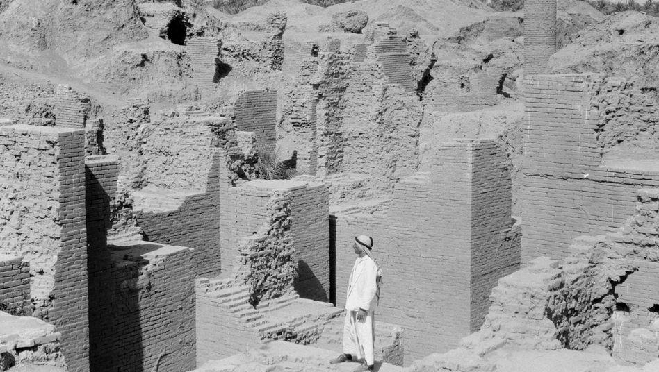 Ruinen von Babylon im heutigen Irak