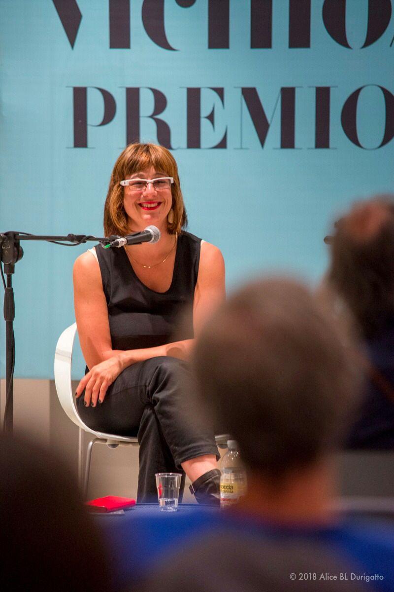 EINMALIGE VERWENDUNG Cecilia Ferrara/ Journalistin der RAI
