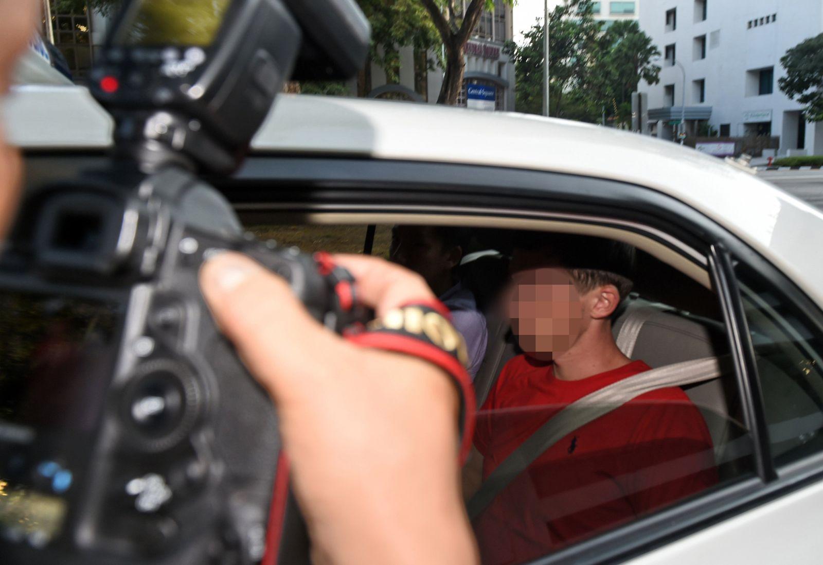 Graffiti-Prozess gegen Leipziger in Singapur