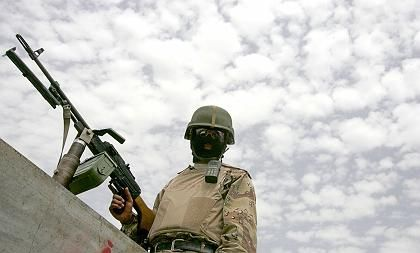 US-Soldat (in Mossul): Grausige Erfahrungen