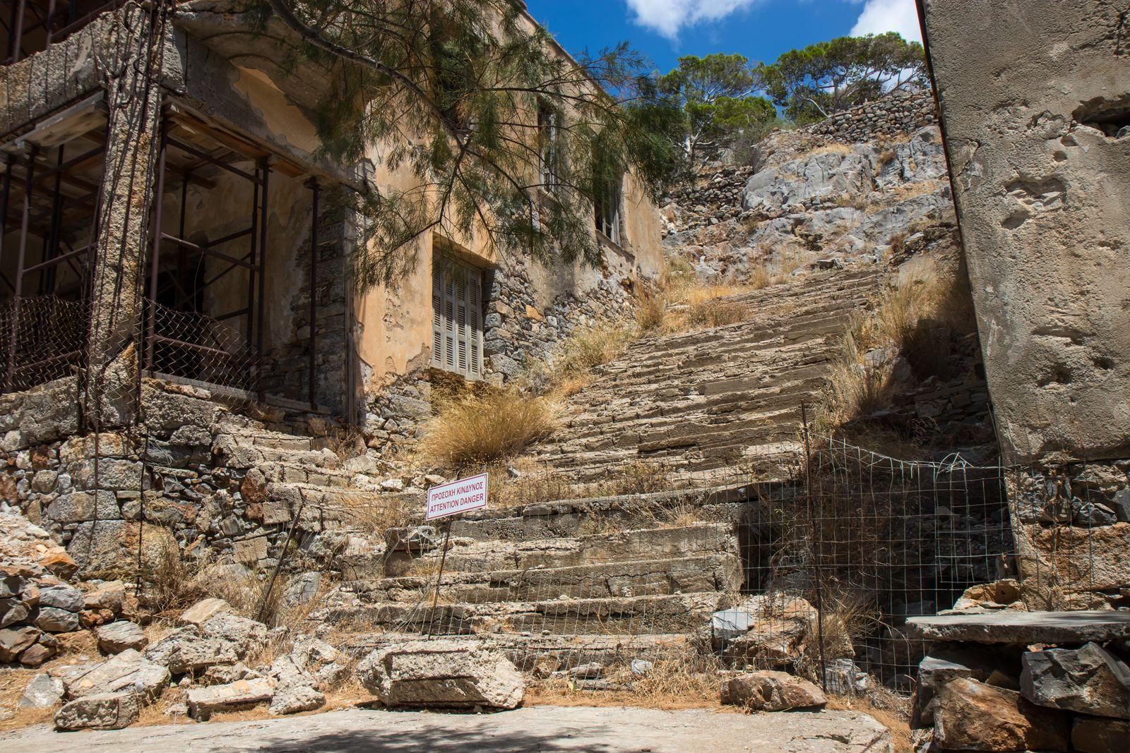Spinalonga - a former leper colony - Crete, Greece